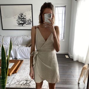Dresses & Skirts - Wrap mini dress
